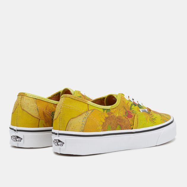 Vans x Van Gogh Museum Authentic Shoe - Yellow fdf829a35