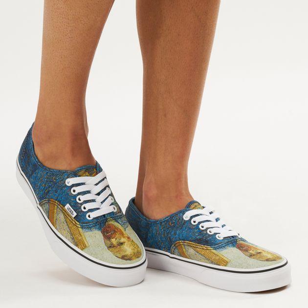 a828779e9e67 Vans x Van Gogh Museum Authentic Shoe - Blue