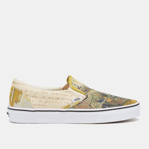 Vans x Van Gogh Museum Skull Classic Slip On Shoe | Casual