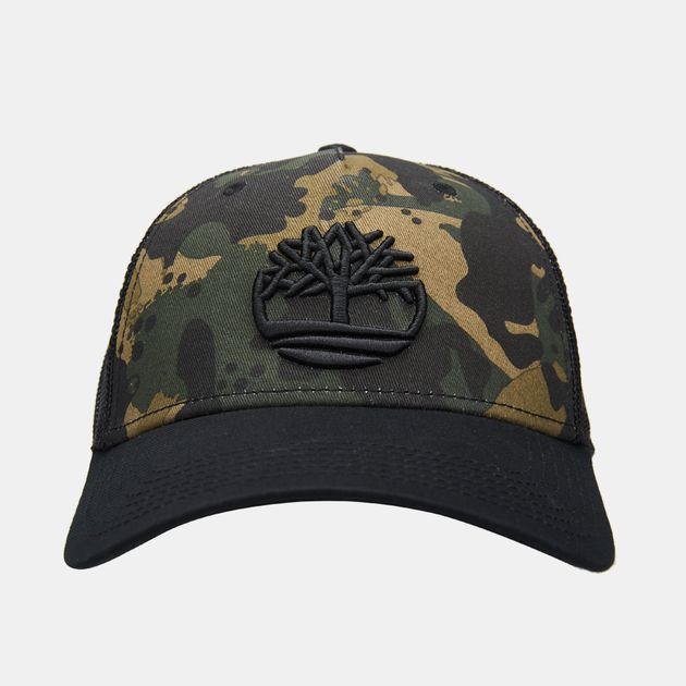 5c09624c1 Timberland Men's Camo Mesh Trucker Cap