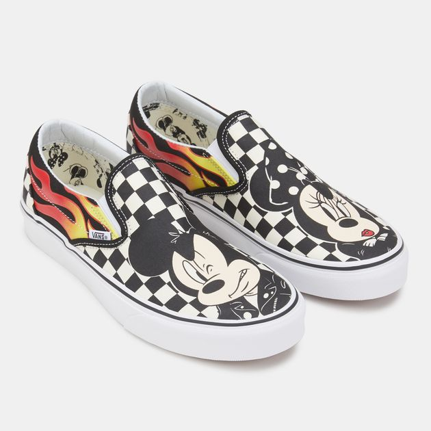 4a4b68808f Vans x Disney Mickey Mouse Classic Slip-On Shoe