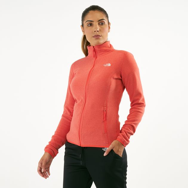 Damen The North Face Women 100 Glacier Full Zip Jacket Damen