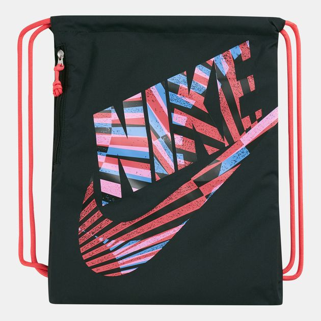 52bbe4a9f6b Nike Heritage Graphic Gymsack | Backpacks and Rucksacks | Bags and ...