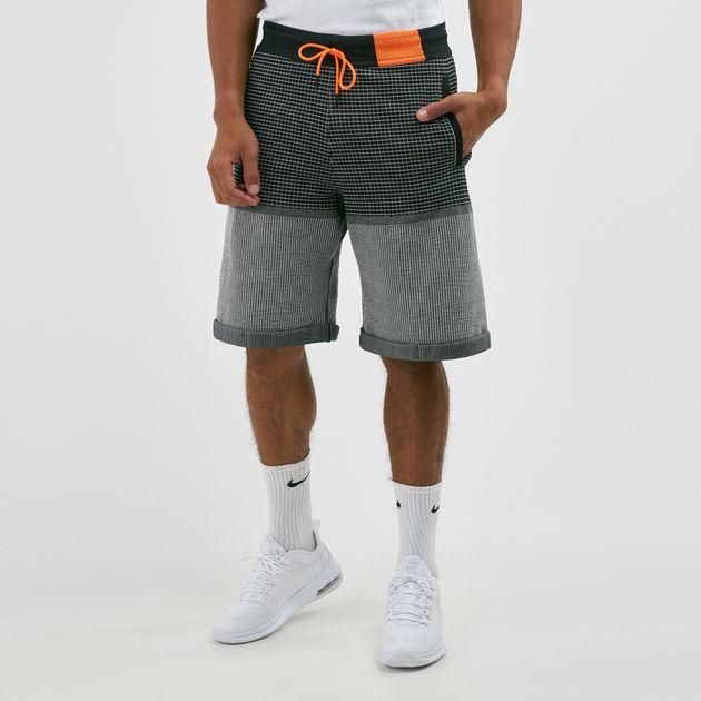 d5f46a794b Nike Men's Sportswear Tech Pack Grid Knit Shorts | Shorts | Clothing ...