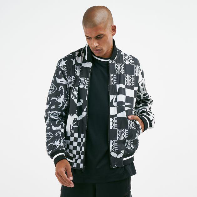 Nike Men's Sportswear Allover Scorpion Print Jacket