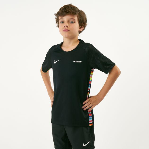 5e6dbbe12 Nike Kids' Dri-FIT Mercurial Football T-Shirt (Older Kids) | T ...