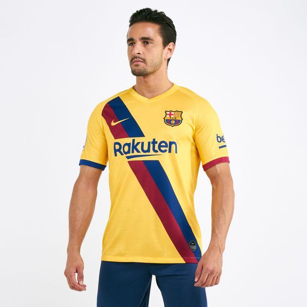 separation shoes 2e0d4 6abba Nike Men's FC Barcelona Stadium Away Jersey T-Shirt - 2019/20