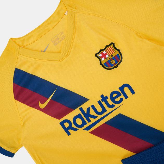 buy popular ddd36 e3136 Nike Kids' FC Barcelona Away Kit (Younger Kids)