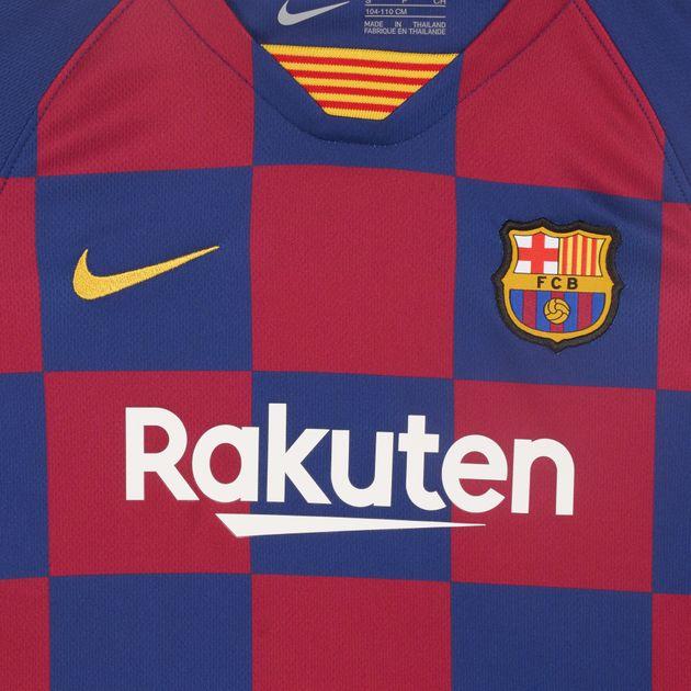 best website 6c7ee c56af Nike Kids' FC Barcelona Home Kit -2019/20 (Younger Kids)
