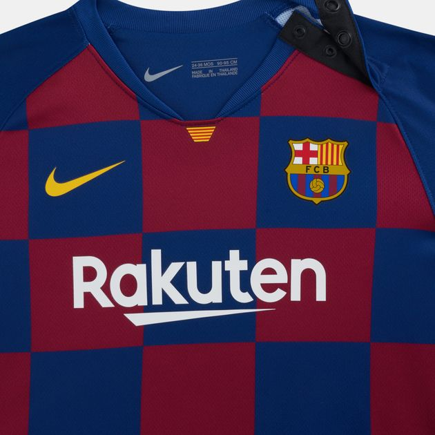 reputable site 26ed9 519b7 Nike Kids' FC Barcelona Home Kit (Baby and Toddler)