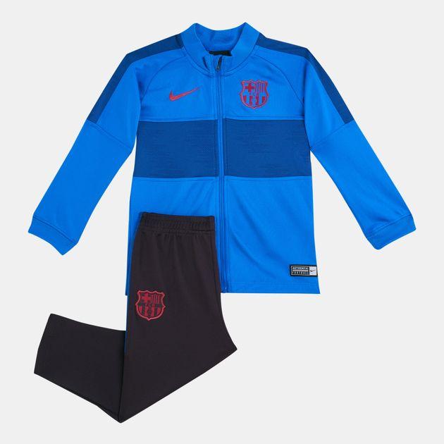 half off 6b1a0 9ae3c Nike Kids' FC Barcelona Strike Tracksuit (Baby & Toddler)