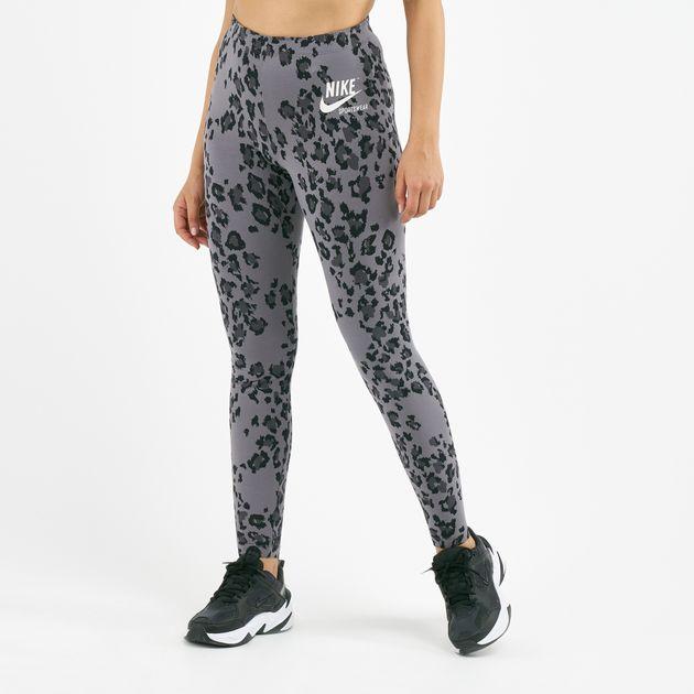 nike leggings leopard