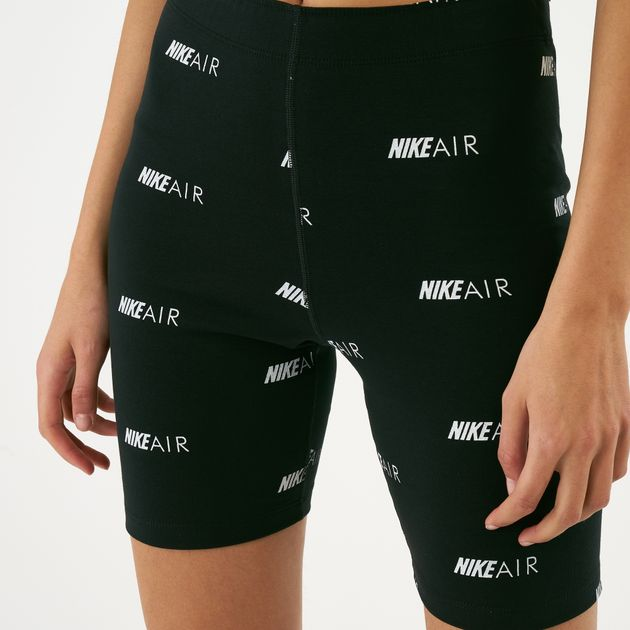 1aed1879c Nike Women's Sportswear Air Over Print Bike Shorts | Shorts ...