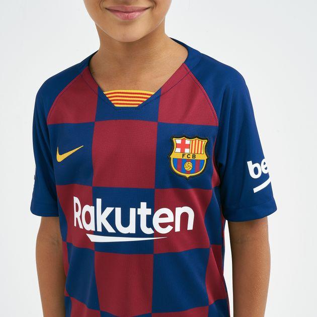 timeless design 1edaa 8ec03 Nike Kids' FC Barcelona Breathe Stadium Home Football Jersey - 2019/20  (Older Kids)