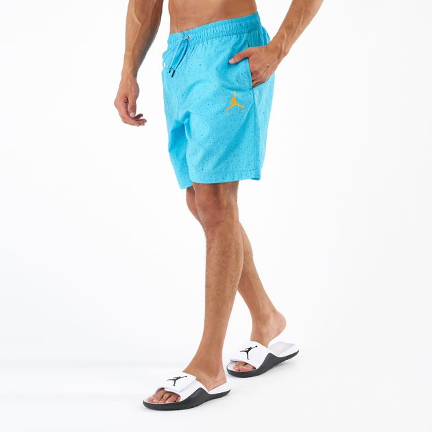 91932c108c7 Jordan Men's Jumpman Cement Poolside Shorts   Shorts   Clothing ...