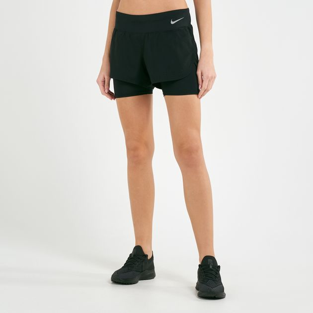 release info on skate shoes shoes for cheap Nike Women's Eclipse 2-in-1 Running Shorts