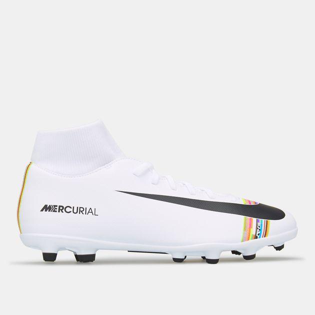 newest b10de c9a58 Nike Men's Mercurial Superfly 6 Club CR7 Multi-Ground Football Shoe