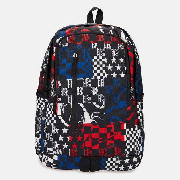 lowest price b4cc8 f6528 Nike All Access Soleday All Over Print Backpack - Black, 1605817