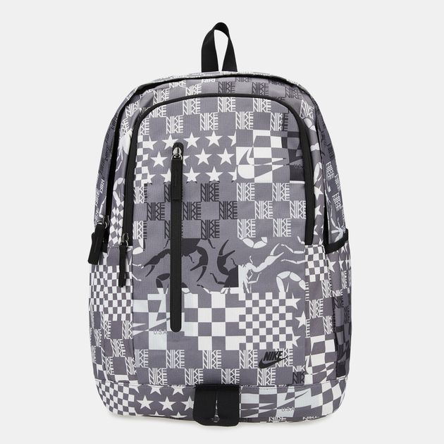 cheaper 3d468 0378d Nike All Access Soleday All Over Print Backpack - Grey, 1605821