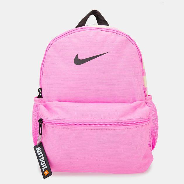 f159f3e3f0 Nike Kids  Brasilia Just Do It Mini Backpack (Older Kids) - Pink
