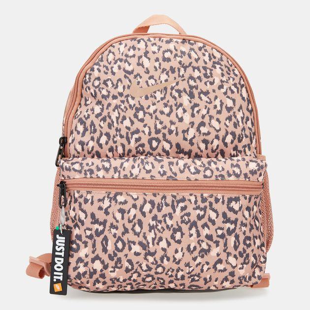 5a2995df7630 Nike Kids  Brasilia Just Do It Mini Backpack (Older Kids) - Pink