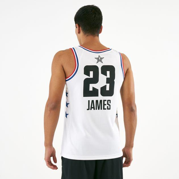 super popular c662e 99165 Nike Men's NBA LA Lakers LeBron James All-Star Edition Swingman Jersey 2019