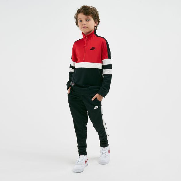 a97608c8b Nike Kids' Air Colour-Block Stripe Tracksuit (Older Kids)   Clothing ...