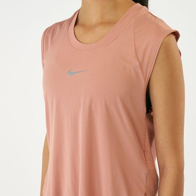 best service 55ab8 82750 Previous. Nike Women s City Sleek Running Tank Top, 1601180