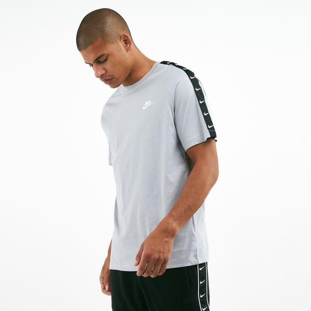 competitive price half off hot sale Nike Men's Repeat Swoosh T-Shirt