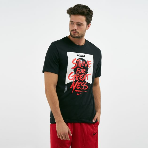 1b880d76 Nike Men's Dry LeBron James Graphic Print T-Shirt | T-Shirts | Tops ...