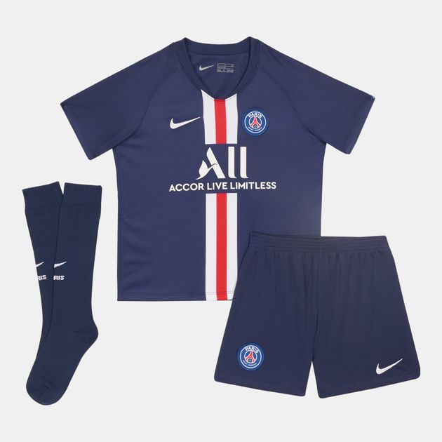 hot sale well known hot sale online Nike Kids' Paris Saint-Germain Home Kit -2019/20 (Baby and Toddler)