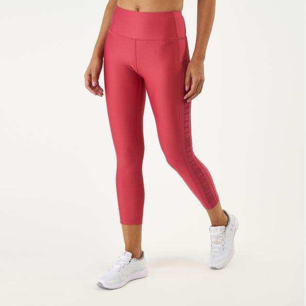 cb8f9571c53c9d Under Armour Women's HeatGear® Armour Ankle Crop Branded Leggings, 1617570