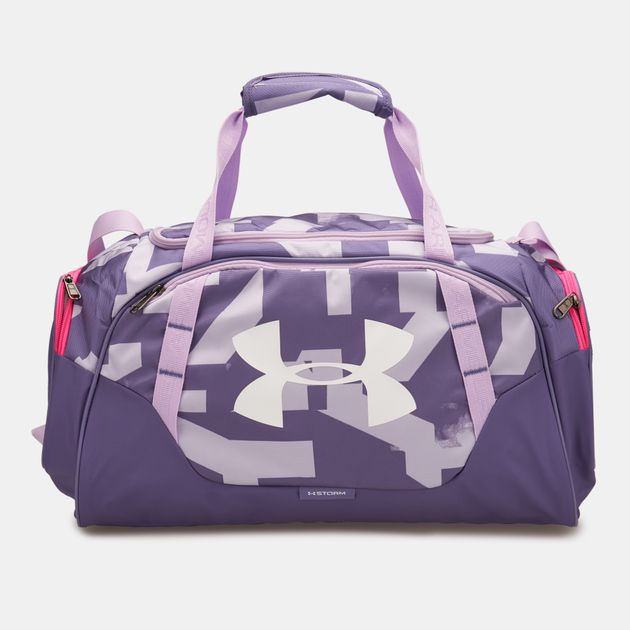 Under Armour Undeniable 3.0 Small Duffle Bag - Purple b84eb365e959c