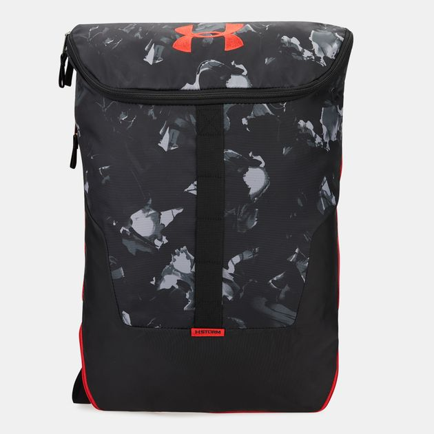 99947f5905562 Under Armour Expandable Sackpack Bag - Black