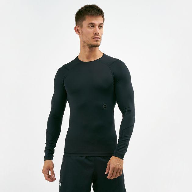 6e59379d8 Under Armour Men's Rush Compression Long Sleeve T-Shirt | T-Shirts ...