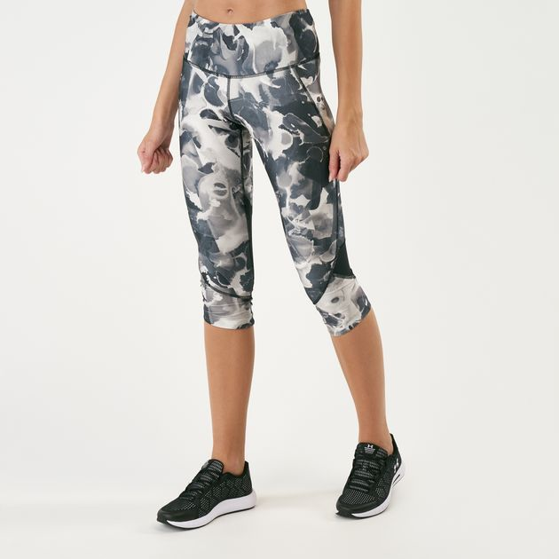827257f152a01 Under Armour Women's Fly Fast Printed Capri Leggings | Capri ...