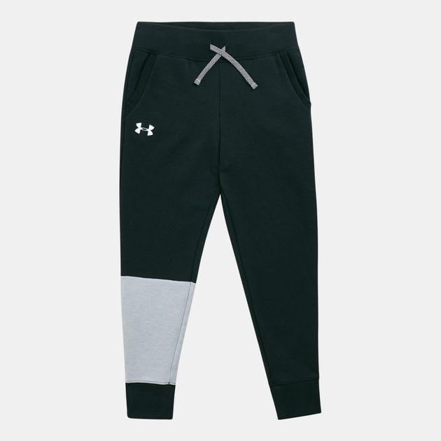 ff6378c2708973 Under Armour Kids' Unstoppable Double Knit Jogger Pants (Older Kids),  1677361