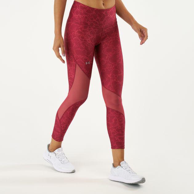 bdedcd1bdb8 Under Armour Women's HeatGear® Armour Ankle Crop Print Leggings, 1617566