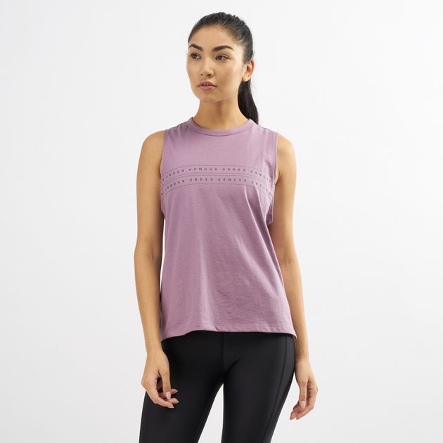 235ed615 Under Armour Women's Graphic Muscle Tank Top | Tank Tops | Tops ...