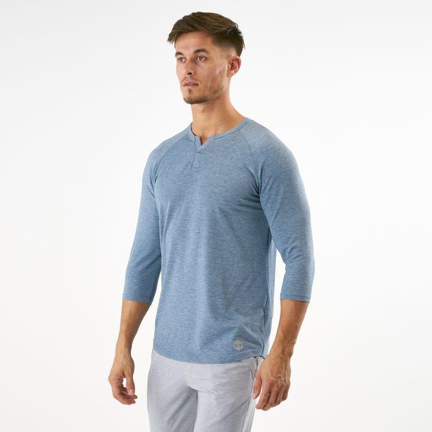 6e0706fef42 Under Armour Men s Athlete Recovery Sleepwear Henley 3 4 T-Shirt