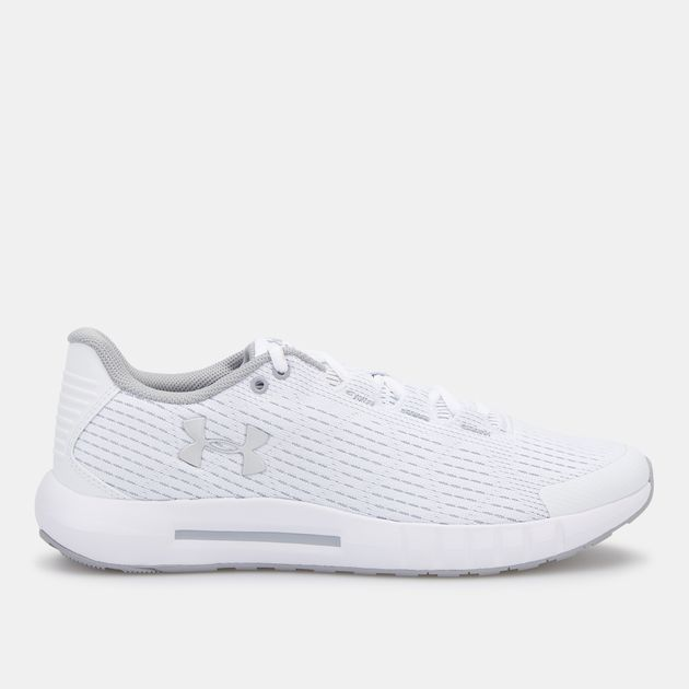 womens white under armour shoes