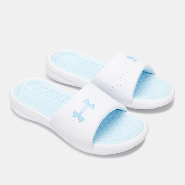 Under Armour Womens Playmaker Fixed Strap Slide Sandal
