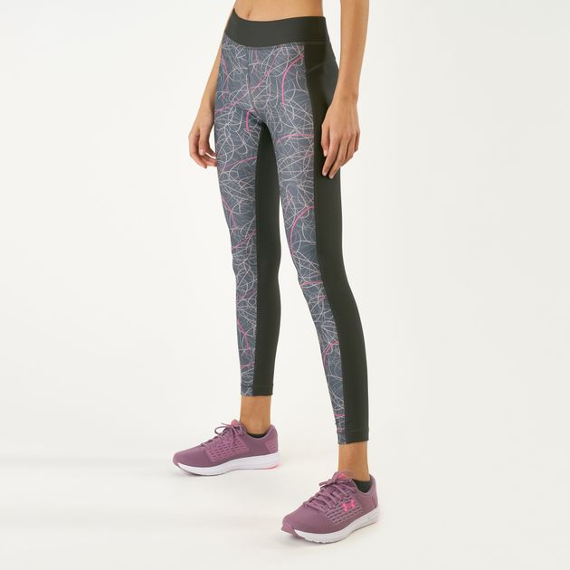 d10560eeb1217 Under Armour Women's HeatGear® Armour Printed Leggings | Full Length ...
