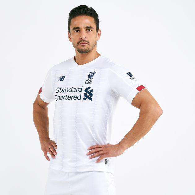 new arrivals 9fe25 c3dba New Balance Men's Liverpool Away 2019/20 Jersey