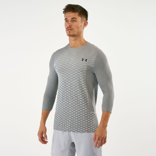 ae7399cf1c Under Armour Men's Vanish Seamless 3/4 Sleeved T-Shirt