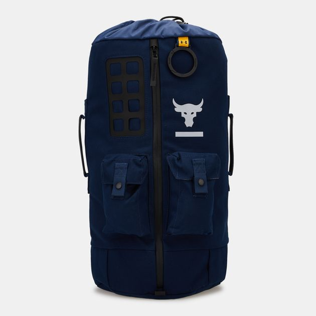 Under Armour x Project Rock 60 Duffle Bag - Blue 1c0cf9a149f89