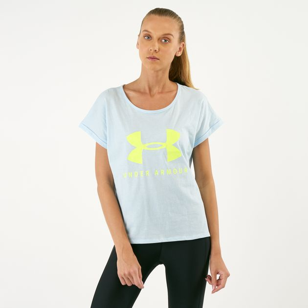 9be62e204 Under Armour Women's Graphic Sportstyle T-Shirt | T-Shirts | Tops ...