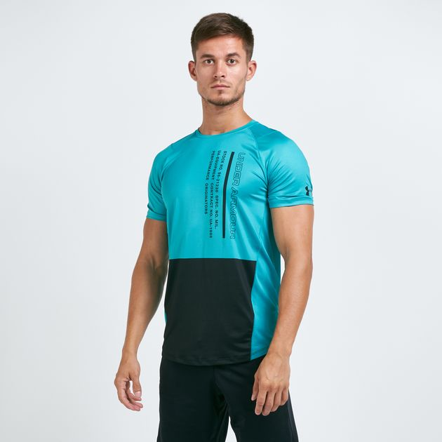 cute cheap luxury aesthetic exceptional range of styles Under Armour Men's MK1 Colourblock T-Shirt