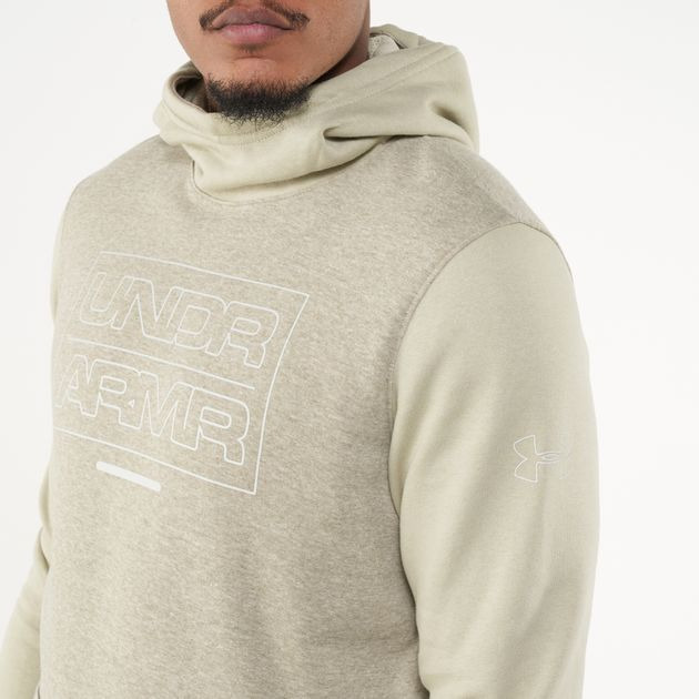 Under Armour Mens Baseline Fleece Pull Over Hoody
