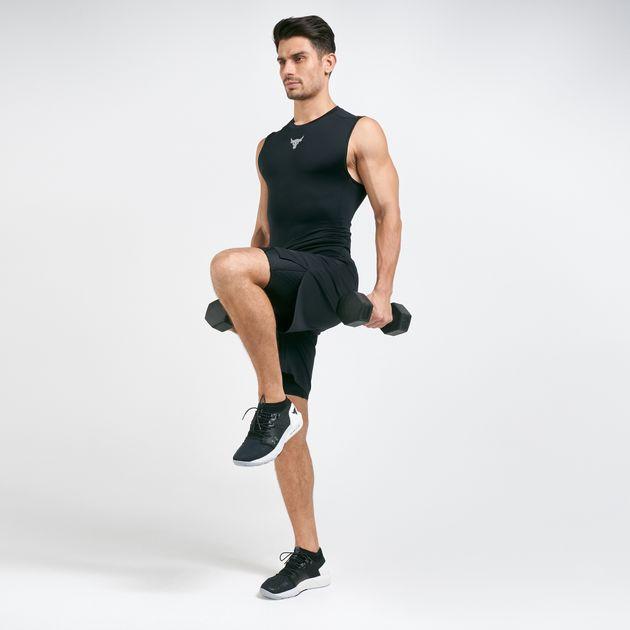Men's Compression Rock Shorts Under Project Armour g7vIb6fYy
